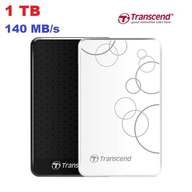 Ổ cứng di động Transcend StoreJet 25A3 1TB – hàng hãng phân phối Giá chỉ 1.250.000₫