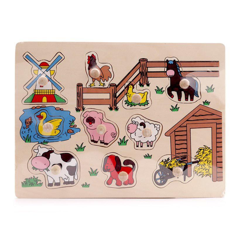 # #Hàng công ty# Bảng nông trại mẫu mới cho bé nhập khẩu. #