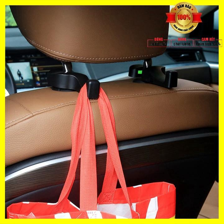 Sản phẩm  Bộ 2 móc treo đồ sau ghế xe hơi, ô tô: DCMC-01