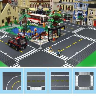 [Phụ Kiện Non-LEGO] Tấm Nền Giao Thông Đường Phố – Tương Thích Lego Tiêu Chuẩn