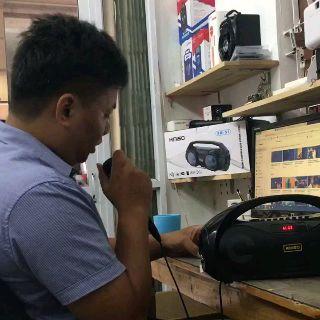 [CẮM ĐƯỢC 1 hoặc 2 MIC KARAOKE CÓ VANG] Loa Kẹo Kéo Karaoke Bluetooth Mini KIMISO S2