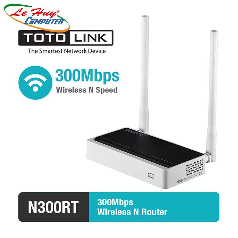 Bộ Phát Wifi TotoLink N300RT-Chuẩn N Tốc Độ 300Mbps