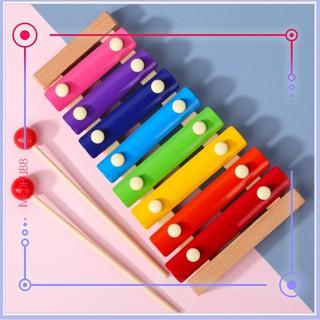 Đồ chơi đàn gỗ Xylophone 8 Quãng Cho Bé ( Loại Thường)