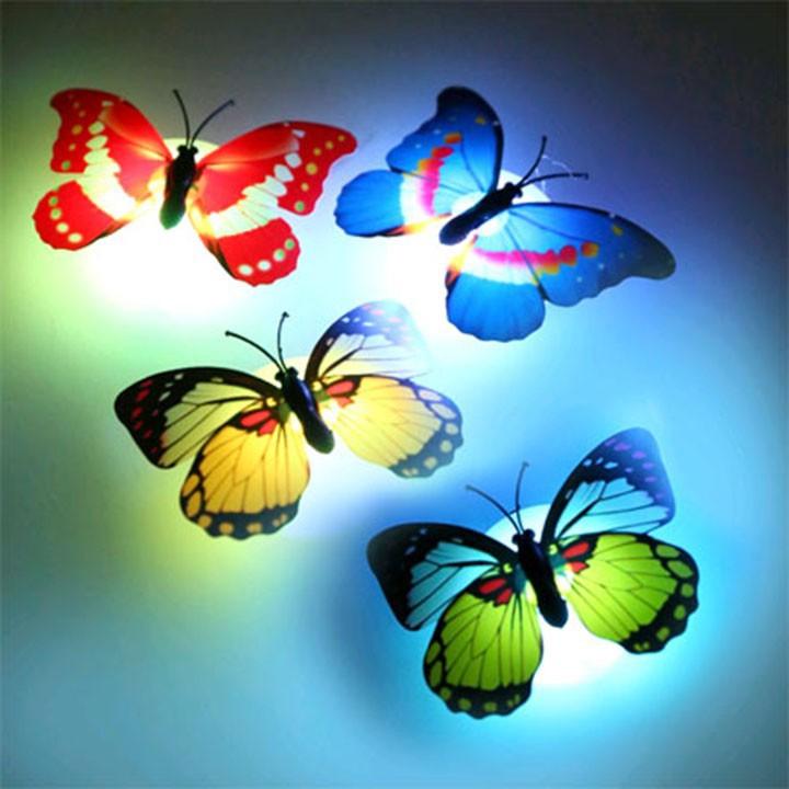 Đèn led dán tường hình con bướm | Đèn ngủ hình bướm F317SP2 | Shopee Việt  Nam