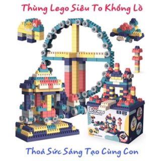 BỘ LEGO SIÊU TO KHỔNG LỒ 260 CHI TIẾT