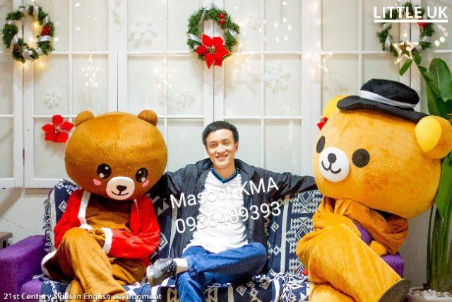 Quần áo hoá trang Mascot Gấu Rilakkuma - sinh nhật, sự kiện