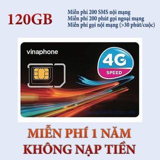 {BIG SALE} Sim 4G Vina VD149 Miễn Phí Data 4GB 1 Ngày Và Gọi 12 Tháng Không Cần Nạp Tiền