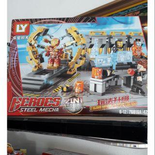 LEGO Người Sắt 420 chi tiết