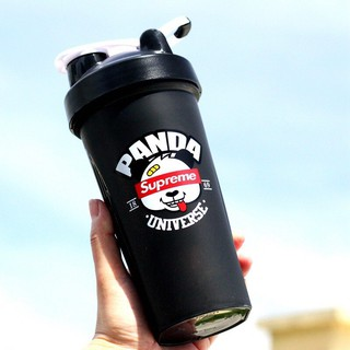 Bình Nước Tập Gym, Thể Thao Tổng DT 750ML Tiện Lợi- có lò so lắc sữa nhanh tan.