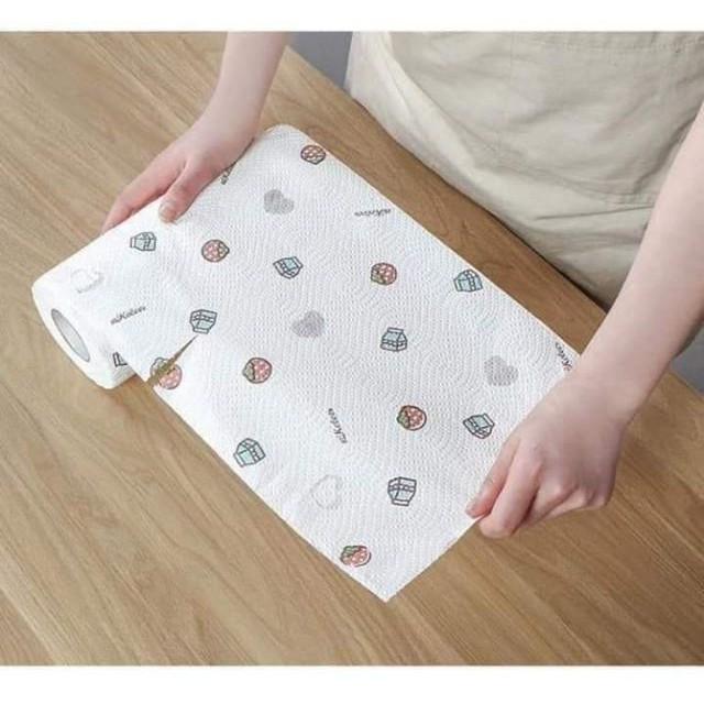 Cuộn giấy lau nhà bếp đa năng 220 tờ