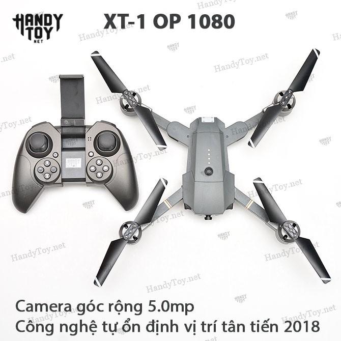 XT-1 OP 1080 FlyCam gấp cánh (Phiên bản 2018)