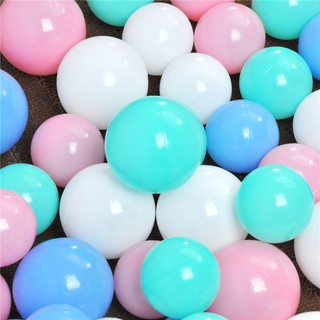 HEL❤ 20pcs Soft Ocean Wave Ball Pits Water Pool Balls Baby Toys Outdoor F