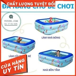[HCM]-1m5- -Hot- Bể bơi, Hồ bơi Phao 1m5 DÀY DẶN, ĐÁY CHỐNG TRƯỢT, TẶNG BỘ VÁ PHAO
