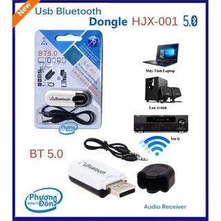 USB Bluetooth HJX-001 5.0 BT< Mẫu Mới Thế Hệ Thứ 3 >,Tốc Độc Kết Nối Ổn Định