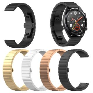 Dây đeo đồng hồ bằng thép không gỉ 22mm Vòng đeo tay cho Huawei Watch GT Honor Magic Watch 2pro Dây đeo kim loại Huawei gt active 46mm thumbnail