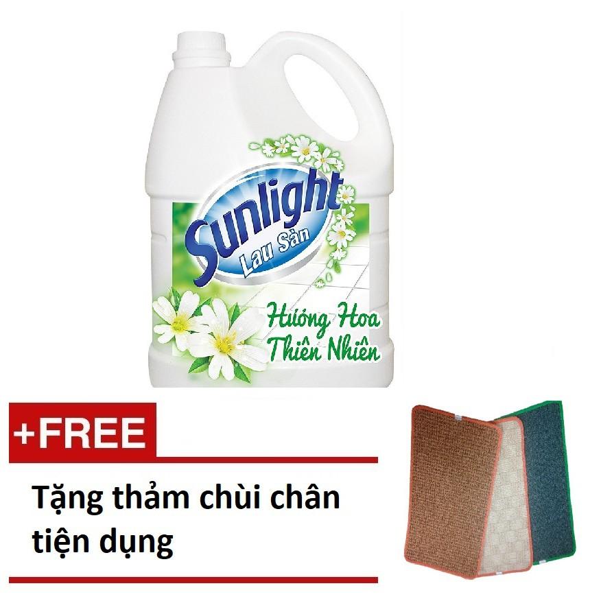 [QUÀ] Nước lau sàn Sunlight Hương Hoa Thiên Nhiên chai 3.8kg + 1 thảm chùi chân tiện dụng (MSP 67425 - 3074320 , 421933537 , 322_421933537 , 90000 , QUA-Nuoc-lau-san-Sunlight-Huong-Hoa-Thien-Nhien-chai-3.8kg-1-tham-chui-chan-tien-dung-MSP-67425-322_421933537 , shopee.vn , [QUÀ] Nước lau sàn Sunlight Hương Hoa Thiên Nhiên chai 3.8kg + 1 thảm chùi chân