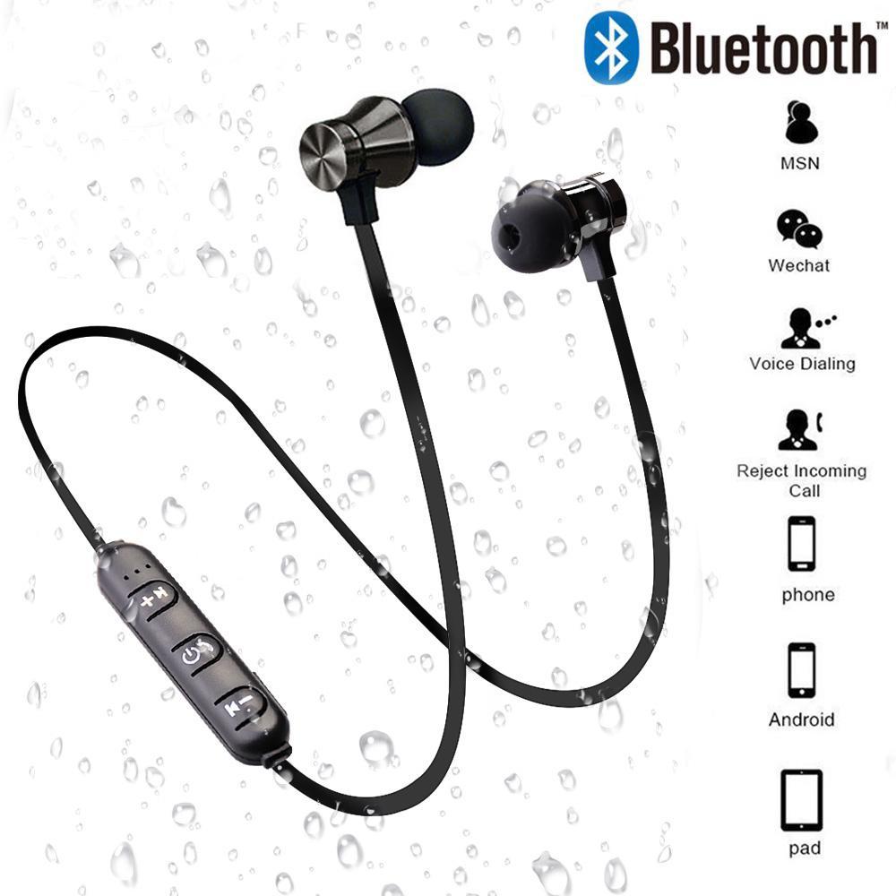 [Tai nghe Bluetooth không dây thể thao từ tính] [được thiết kế trong tai] [Có mic] [Tương thích với điện thoại di động thông minh Android thông minh và iPhone ios]