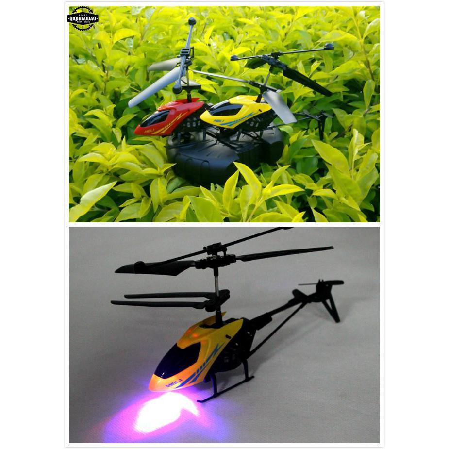 Mini Remote Control Aircraft 2.5CH I/R RC Airplane Helicopter Child Baby Toy