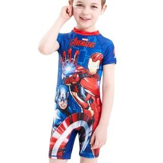 Bộ đồ bơi liền quần cho bé trai từ 3-9 tuổi, đồ bơi bé trai siêu nhân, người nhện, đội bay cứu hộ, ô tô, chú chó cứu hộ