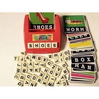 Bộ Matching letter học từ vựng và nhớ mặt chữ tiếng anh