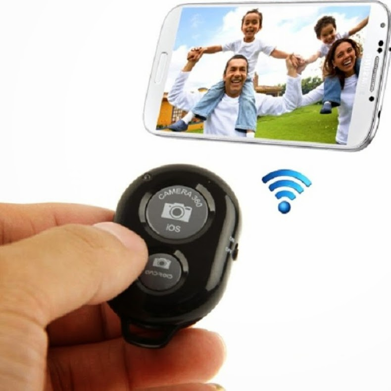 Remote chụp hình tự sướng Bluetooth