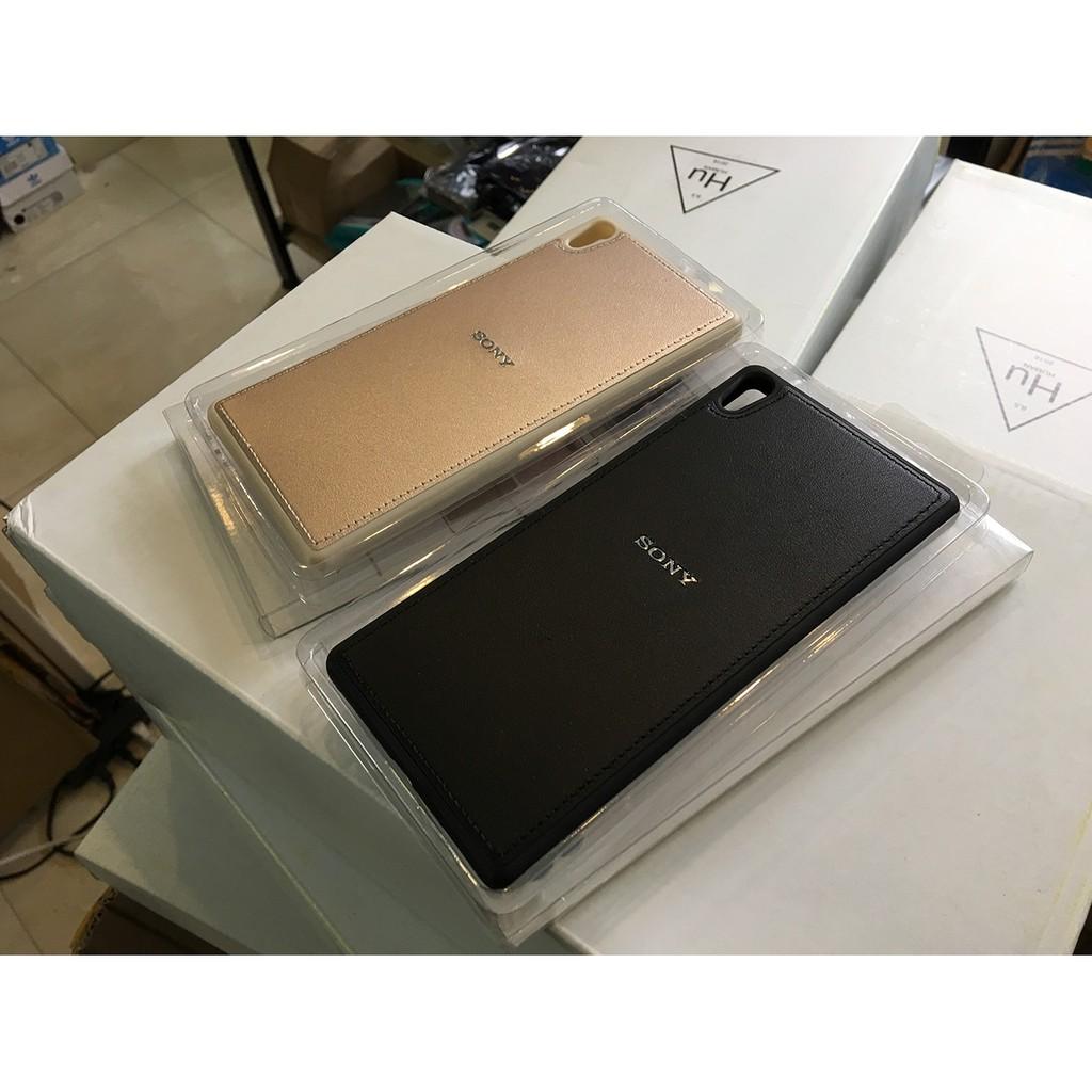 [SIÊU KHUYẾN MẠI CUỐI NĂM] Ốp lưng silicon da Sony XA Ultra (Logo kim loại)