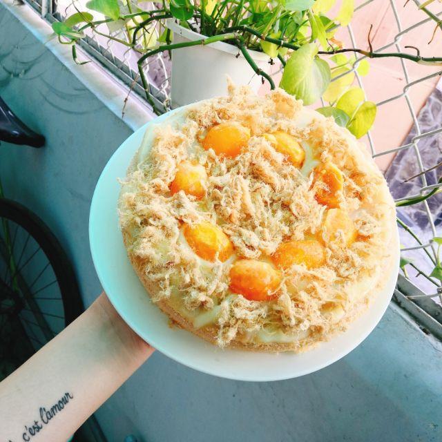 Bông lan trứng muối sốt phô mai