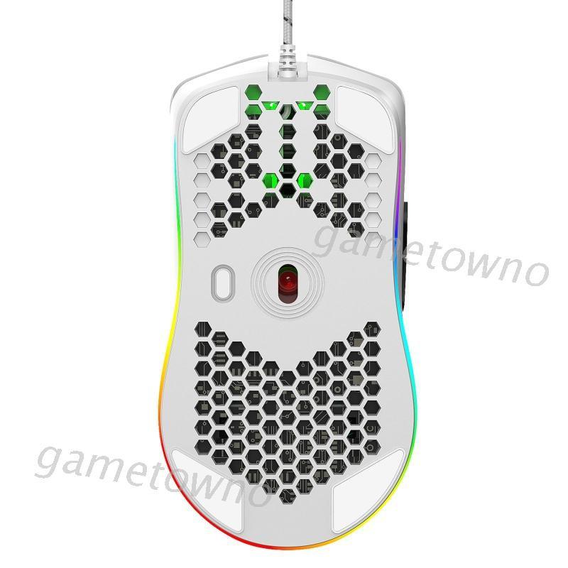 Chuột Gaming Wili J900 6400dpi Có Dây, 6 Nút