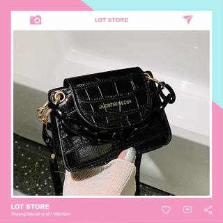 Túi đeo chéo nữ đẹp đi chơi dễ thương nhiêu ngăn giá rẻ LOT STORE TX689