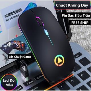 Chuột Không Dây A2 - Chống Ồn Pin Sạc Thích Hợp Cho Dân Văn Phòng thumbnail
