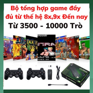 Máy chơi trò chơi trẻ em ps3000 Game Stick - Máy chơi game tay cầm không dây - 3500 trò chơi thumbnail