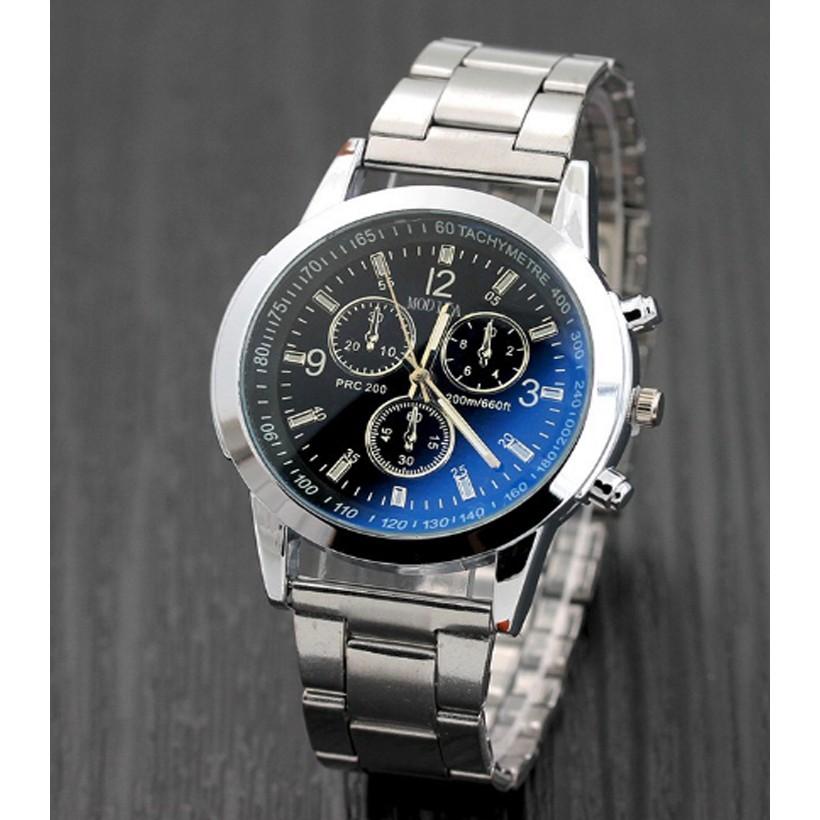 Đồng hồ nam dây hợp kim FHD GE001