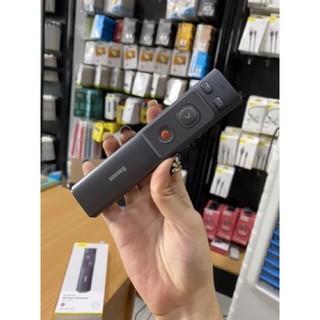 Bút Laser trình chiếu Baseus Orange Dot Wireless Presenter cho Laptop/ Macbook (100m. 2.4Ghz USB/Type-C Receiver…)
