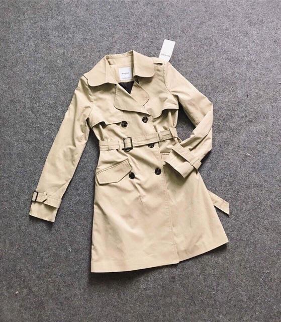 Áo khoác MNG trendcoat vải dư xịn