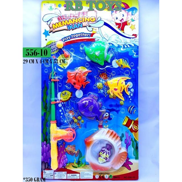 Cần Câu Cá Đồ Chơi 556-10 Chất Lượng Cao