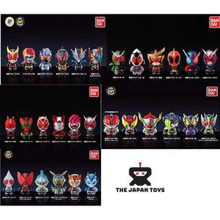 Mô hình Chibi Trưng bàn Kamen Rider Collection Chara Chính hãng (Bandai) thumbnail