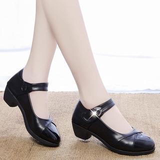 Giày Búp Bê Da Bóng Thời Trang Nữ Tính