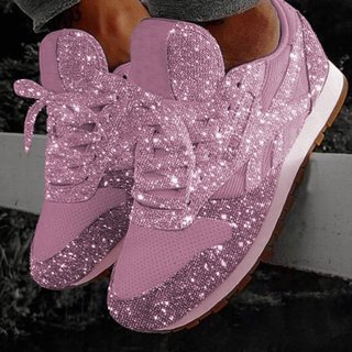 Giày Sneaker đế bằng cho nữ