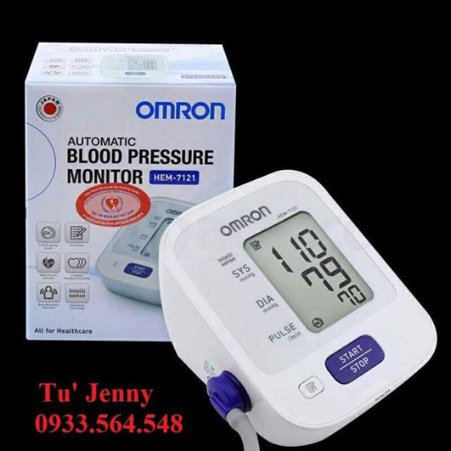 Máy đo huyết áp bắp tay 7121 omron - 13810324 , 1474178812 , 322_1474178812 , 980000 , May-do-huyet-ap-bap-tay-7121-omron-322_1474178812 , shopee.vn , Máy đo huyết áp bắp tay 7121 omron