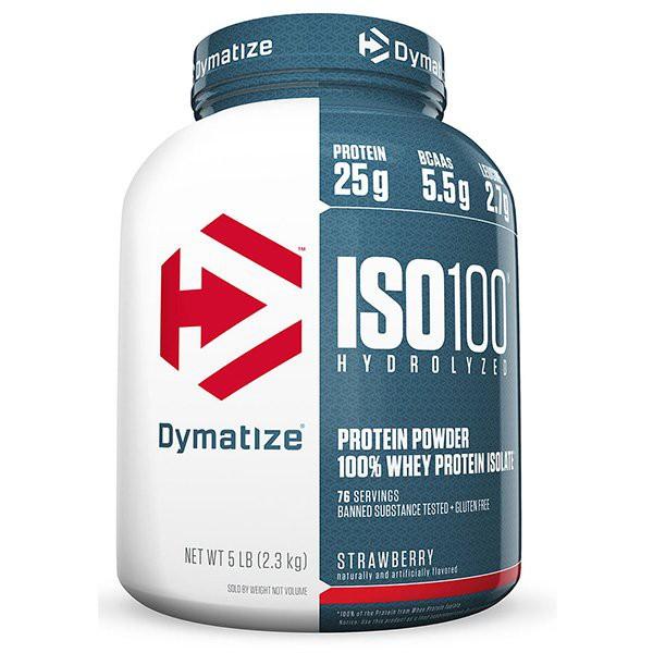 [FREE SHIP + CHÍNH HÃNG] Sữa tăng cân tăng cơ cho người tập Gym - Whey ISO 100 Isolate 100% 5 Lbs (2,27kg)  [100% USA]