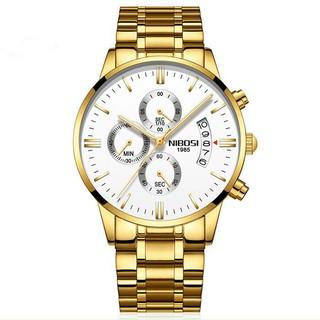 [Tặng vòng tay]Đồng hồ nam NIBOSI chính hãng NI2309 tặng dụng cụ tháo chốt