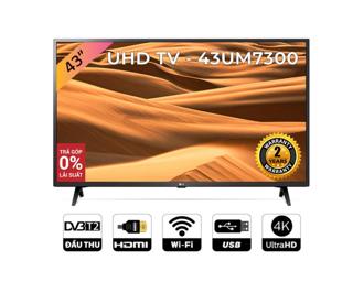 Smart Tivi LG 43 Inch UHD 4K 43UM7300PTA Model 2019 - Có Magic Remote (Chính Hãng)
