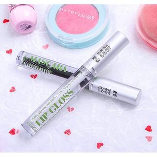 Combo Mascara Dầu Dừa Dưỡng Mi Milaganics + Tinh Chất Dưỡng Môi Lip Gloss Milaganics thumbnail