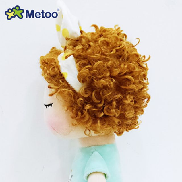Búp bê Metoo chính hãng tóc xoăn cực đáng yêu, quà tặng sinh nhật cho bé