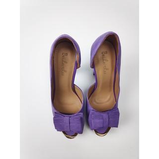 ❆✗Yuzui Korean fashion super high heels nightclub sexy waterproof platform women s singles shoes thick heel side air hate sky bow