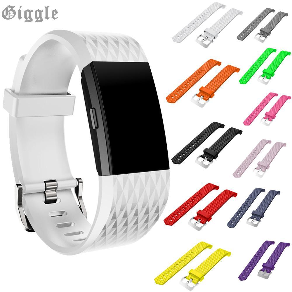 Dây Đeo Thay Thế Cho Đồng Hồ Thông Minh Fitbit Charge 2