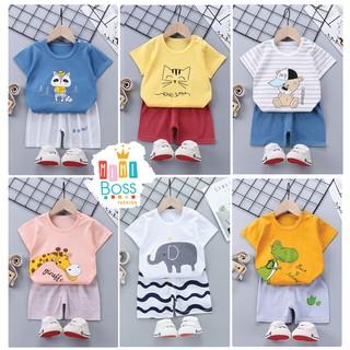 Bộ quần áo cho bé 10-23kg cotton Quảng Châu cao cấp | Bộ quần áo trẻ em, bộ đồ bé trai, bé gái MiniBoss