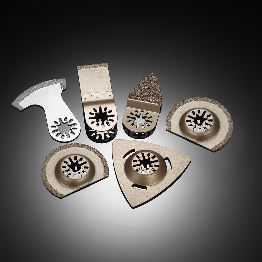 Bộ 6 lưỡi cưa cho máy chà nhám và cắt rung đa chức năng Makita Bosch