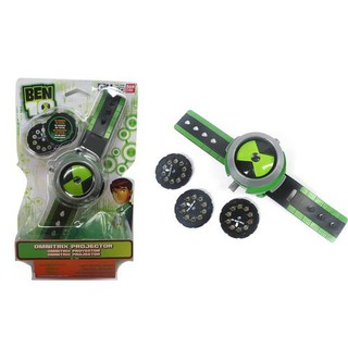Earth Defender Ben10 Small Class Juvenile Hacker Projector Watch Toy