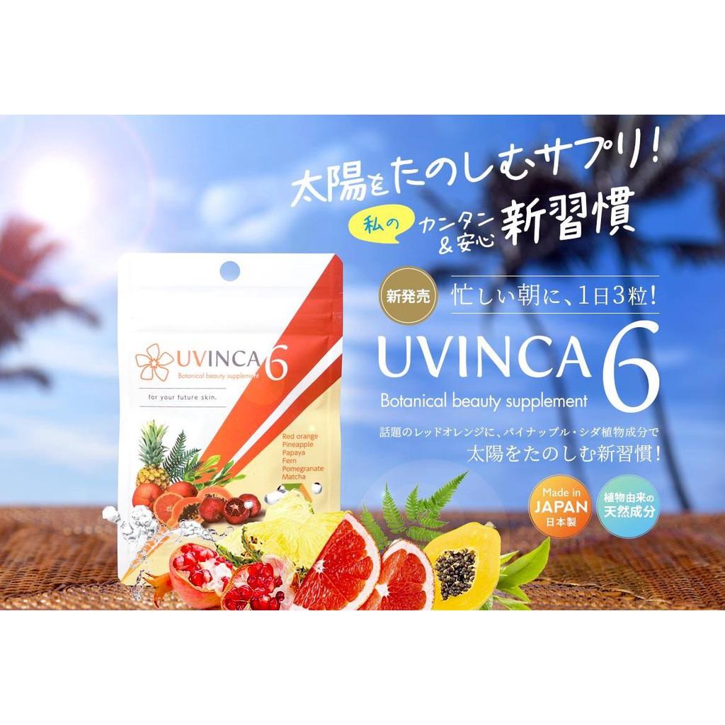 Viên uống sáng da, giảm nám, chống nắng Uvinca6